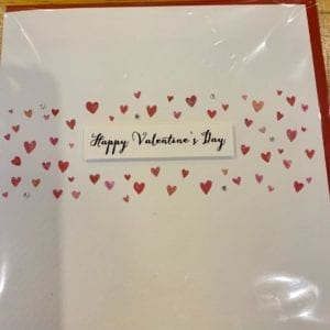 Blue Eyed Sun Valentines Day Card – Charming