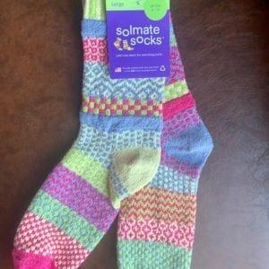 Solmate Socks Aster UK Size 8-10 (L)