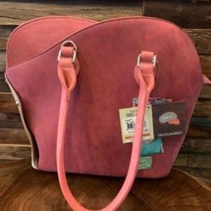 Hi-Di-Hi MoG01 Morning Glory Pink/Beige Handbag