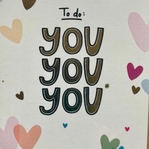 Dandelion Cards – To Do: You, You, You