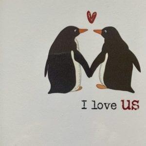 Dandelion Cards – I Love Us