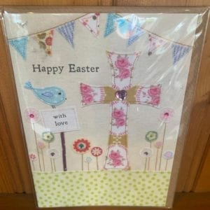 Blue Eyed Sun Cards: Happy Easter Cross