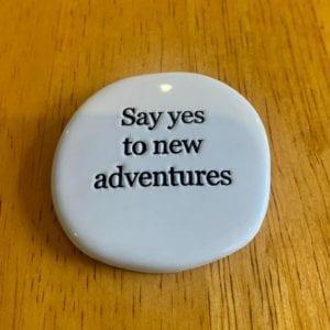 Splosh: Say Yes Life Magnet
