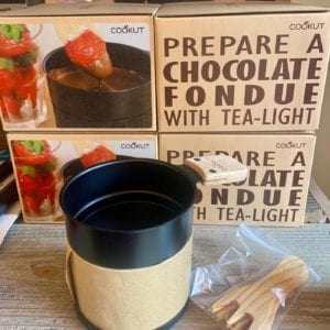 Forma House Lumi Chocolate Fondue Set