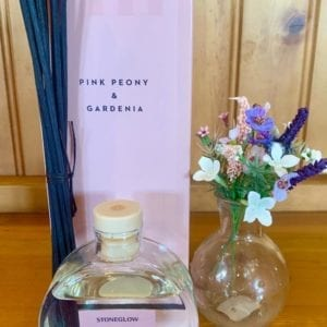 Stoneglow Pink Peony and Gardenia Room Diffuser