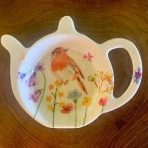 Joe Davies Garden Birds Teabag Tidy