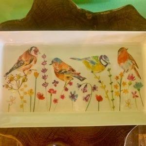 Joe Davies Garden Birds Sandwich Tray