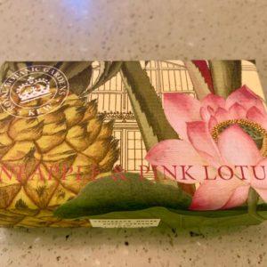 Kew Gardens Pineapple and Pink Lotus Soap