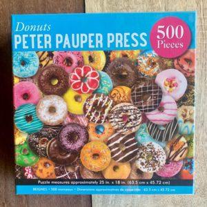 Peter Pauper Press DONUTS Puzzle – 500 Pieces