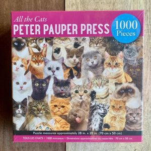 Peter Pauper Press ALL THE CATS Puzzle – 1000 Pieces