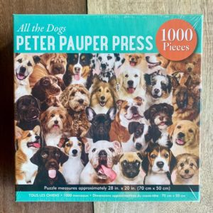 Peter Pauper Press ALL THE DOGS Puzzle – 1000 Pieces