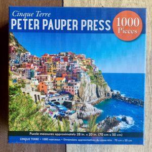 Peter Pauper Press CINQUE TERRE Puzzle – 1000 Pieces