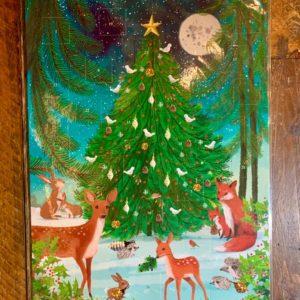 Roger la Borde:  Winter Hideaway Advent Calendar (AC063)