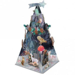 Roger la Borde:  Silver Stag Pop & Slot Advent Calendar (POP081)